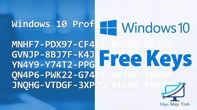 Key Active bản quyền Windows 10 kích hoạt Online các phiên bản khác