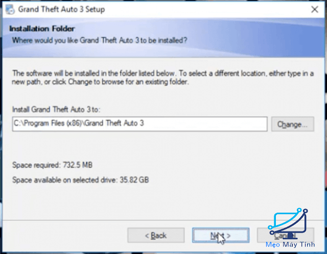cách cài đặt game GTA 3 full crack bước 5