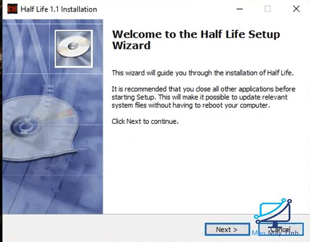 Cài Đặt Half Life 1.1 bước 1