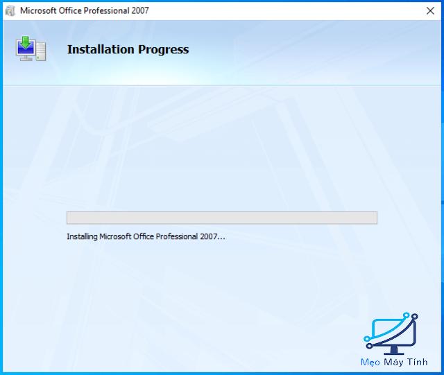 cài đặt Microsoft Office 2007 bước 6