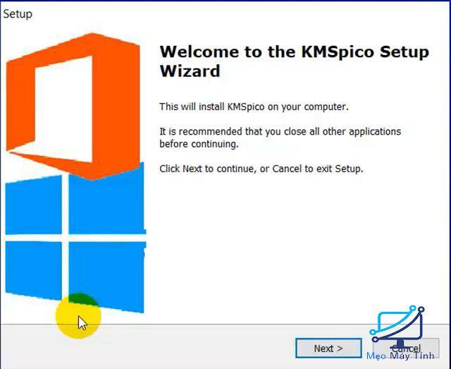 Kích hoạt phần mềm bước 1