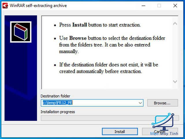 Cách cài đặt phần mềm ABBYY FineReader 12 bước 1