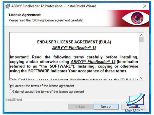 Cách cài đặt phần mềm ABBYY FineReader 12 bước 4
