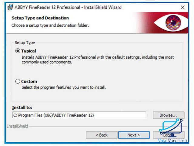Cách cài đặt phần mềm ABBYY FineReader 12 bước 5