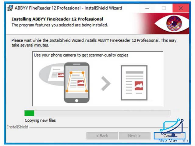 Cách cài đặt phần mềm ABBYY FineReader 12 bước 7