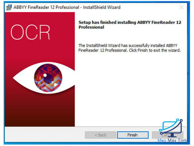 Cách cài đặt phần mềm ABBYY FineReader 12 bước 8