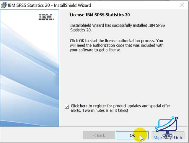 Hướng dẫn cách tải SPSS 20 bước 9