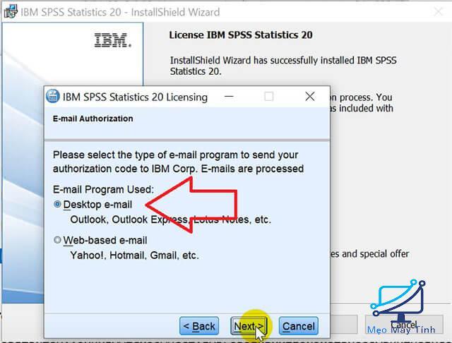 Hướng dẫn cách kích hoạt bản quyền SPSS 20 bước 4
