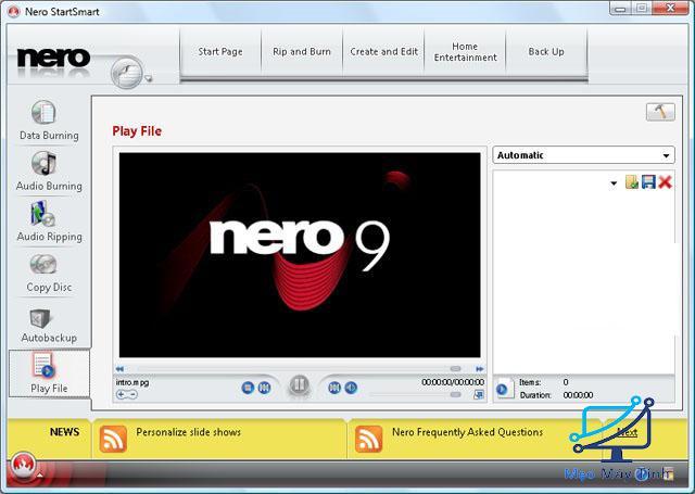 Nero 9 là công cụ gì