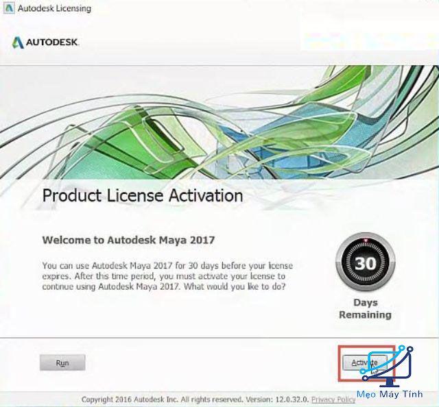 cài đặt Autodesk Maya 2017-8