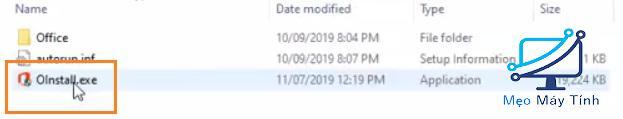 cài đặt Office 2019 cho Win 10 bước 2